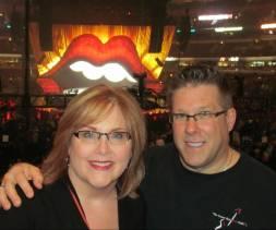 Duke Lisa Rolling Stones concert cropped