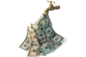 money-faucet