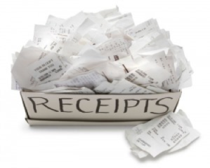 receipts-box